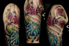 Japanese Style Sleeve on Arm
